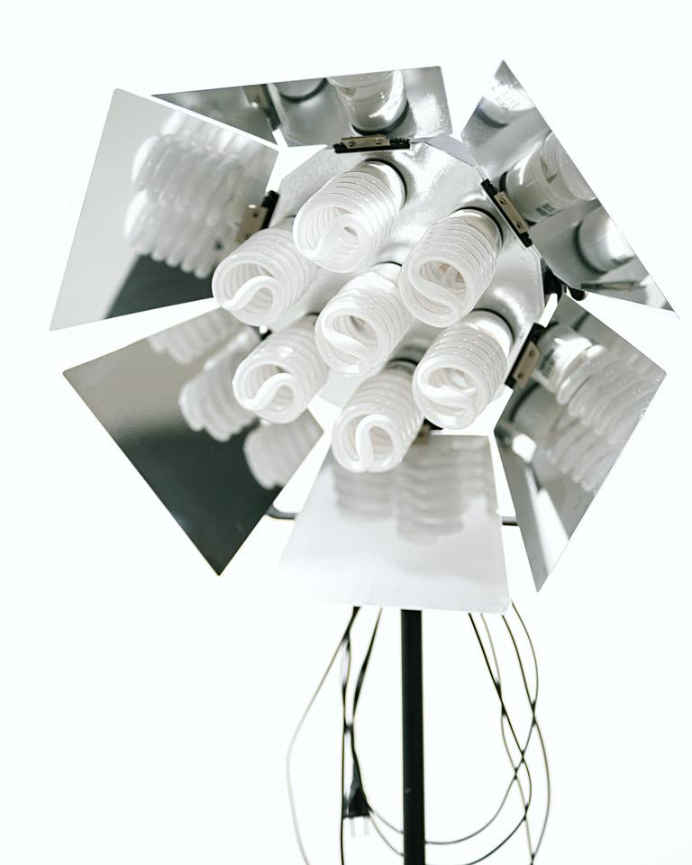 Dauerlichtstrahler, 7 x 50W Fotostudio Dresden, Mietstudio Dresden, Freiraum 140